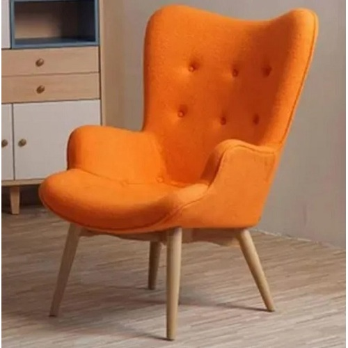 Кресло Флорино оранжевое Mebelmodern