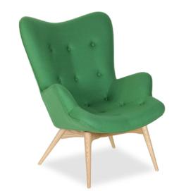 Кресло Флорино зеленое Mebelmodern