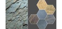 Классический каменный шпон Slate Lite (основа из стекловолокна)
