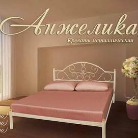 Кровать Анжелика 180*190/200 белая Металл Дизайн