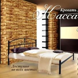 Кровать Кассандра 180*190/200 Металл Дизайн