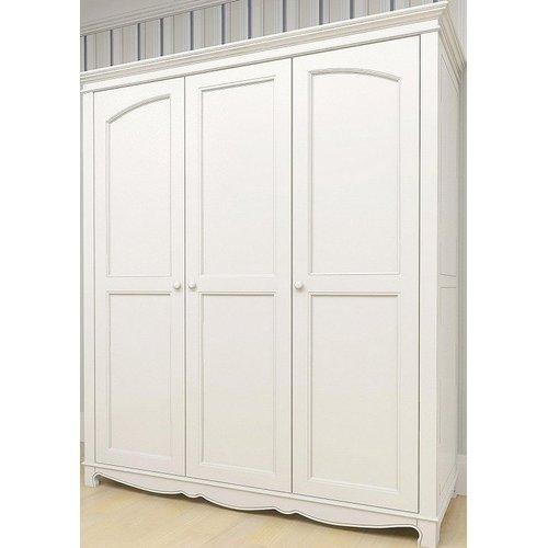 Шкаф 3-х створчатый D8 Канон белый