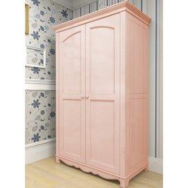 Шкаф двустворчатый D4 Канон розовый