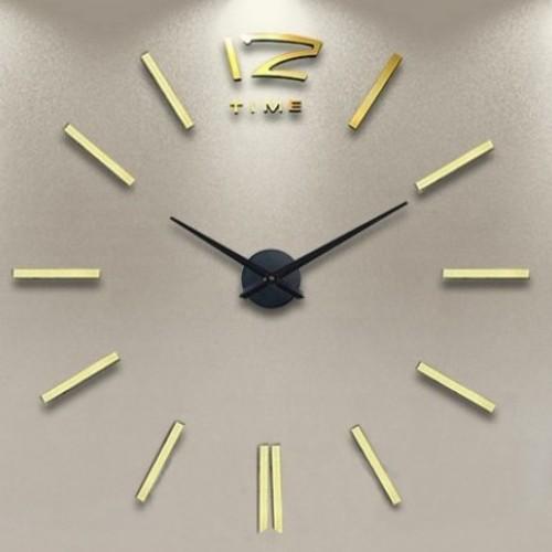 Часы настенные S003-G Ø 70-130 см Clock золото