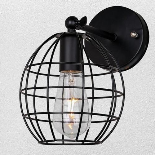 Светильник настенный 707W107-1 BK черный-09 Thexata