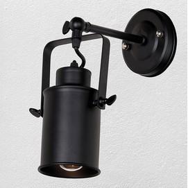 Светильник настенный 707W127-1 BK черный Thexata