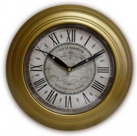 Часы настенные Генри коричневые ED03 De torre