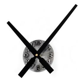 Часы Стрелки №2 черные 30 см Clock