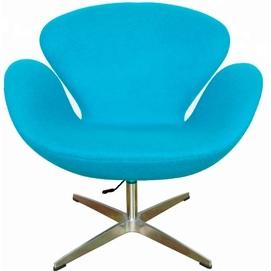 Кресло Сванни голубой Mebelmodern