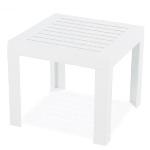 Стол для шезлонга SUDA белый 01 PAPATYА