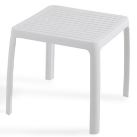 Стол для шезлонга WAVE белый 01 PAPATYА