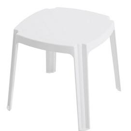 Стол для шезлонга ROYAL белый 01 PAPATYА