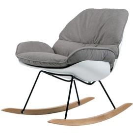 Кресло качалка Serenity серое Concepto