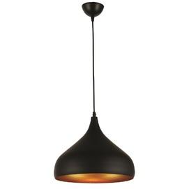 Лампа подвесная 7546425-1 BK(320) черная+золото Thexata 2019