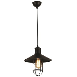 Лампа подвесная 7546578-1 BK(270) черная Thexata 2019