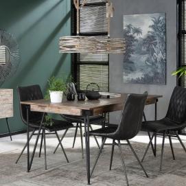 Стол обеденный 2650/19G серый Zijlstra 2019