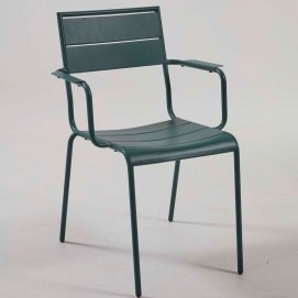 Кресло CC0731R06- ALLEGIAN зеленое  Laforma 2019