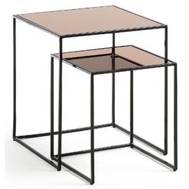 Набор столиков CC0671R01 - SUTE черный Laforma 2019