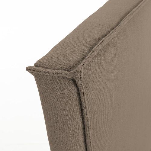 Кровать D077BU10 - ETHEL 150*190 см коричневая Laforma 2019