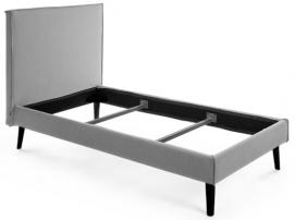 Кровать D077BU14 - ETHEL 150*190 см серая Laforma 2019
