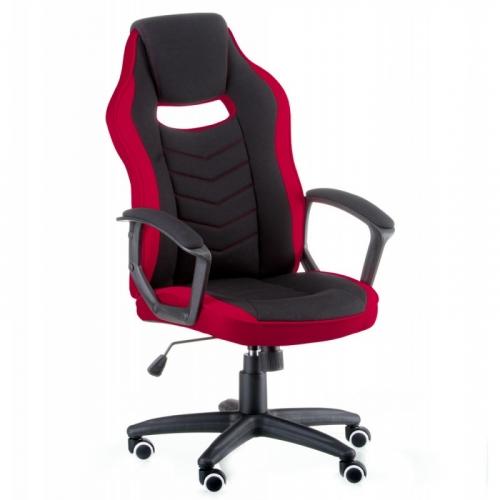 Кресло офисное Special4You Riko Black/Red (E5234) черно-красное