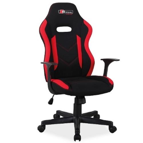 Кресло офисное Rapid красно-черное Signal 2019