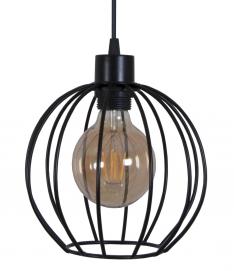 Лампа подвесная Dolio S черная MELBI