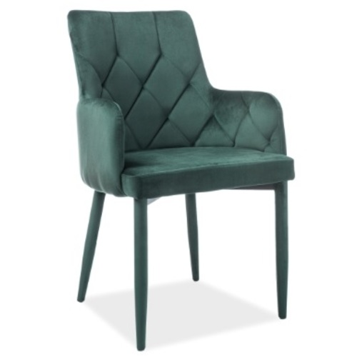 Кресло Ricardo Velvet зеленое Signal 2019