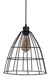 Лампа подвесная Bonnet черная MELBI