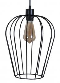 Лампа подвесная Pera L черная MELBI