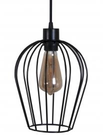 Лампа подвесная Pera S черная MELBI