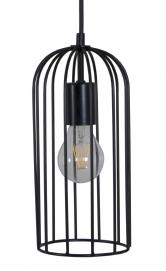 Лампа подвесная Rocca черная MELBI