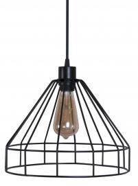 Лампа подвесная Treviso черная MELBI