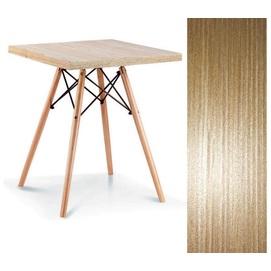 Стол обеденный Эльба D 80*80 см натуральный Mebelmodern 2019