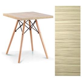 Стол обеденный Эльба N 80*80 см натуральный Mebelmodern 2019
