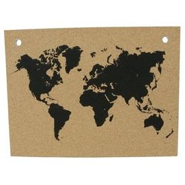 Доска для заметок Map  Large 1217-ML натуральная Woodwine