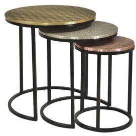 Набор столиков  01053-10 цветной Sit Moebel 2019