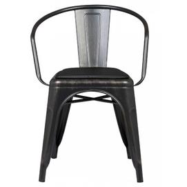 Кресло Tolix MC005 черный с бронзовым OUTDOOR
