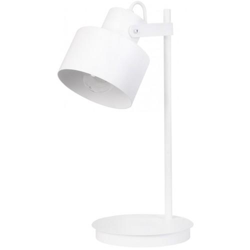 Лампа настольная METRO 50124 белая Sigma