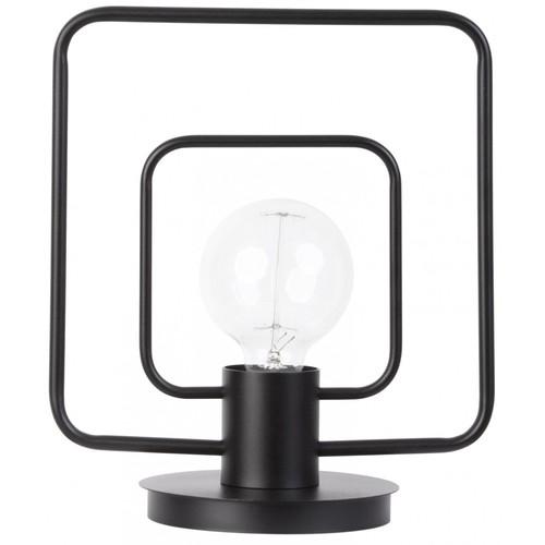 Лампа настольная FREDO 50102 черная Sigma