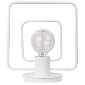 Лампа настольная FREDO 50103 белая Sigma