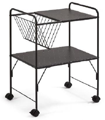 Стол сервировочный STRAHAN CC0891R01 черный Laforma 2019