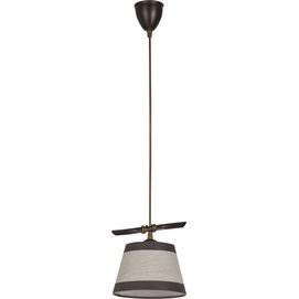 Лампа подвесная NIKI 20855 коричневая Sigma