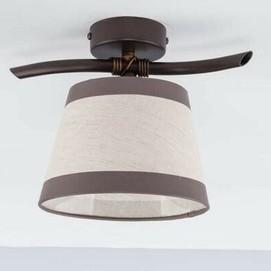 Лампа потолочная NIKI 20807 коричневая Sigma