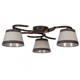Люстра потолочная Sigma Niki 20801 коричневая