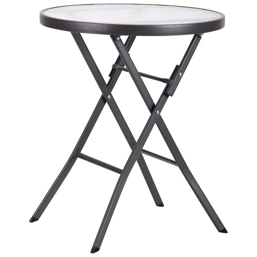 Стол обеденный Maya т.серый, стекло 519717 Famm 2019
