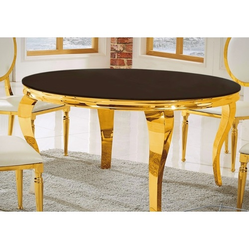 Стол обеденный 120cm TH306-6 золото Glamoorzee