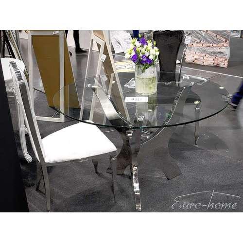 Стол обеденный 120cm TH314 серебро Glamoorzee