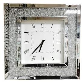 Часы 15js0016-1 серебро Eurohome