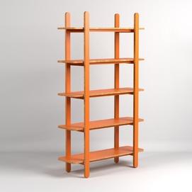Стеллаж Elliot H1200 оранжевый Inshovid